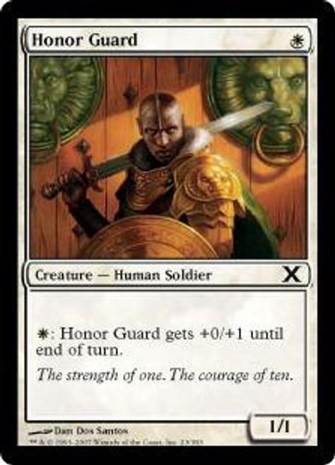 MtG 10th Edition Common Honor Guard #23