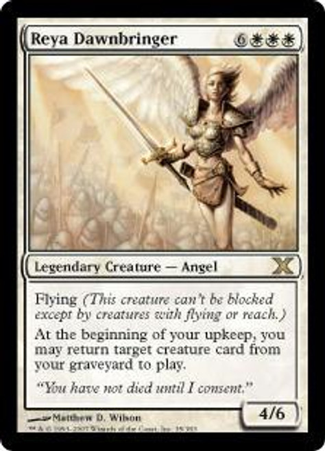 MtG 10th Edition Rare Reya Dawnbringer #35