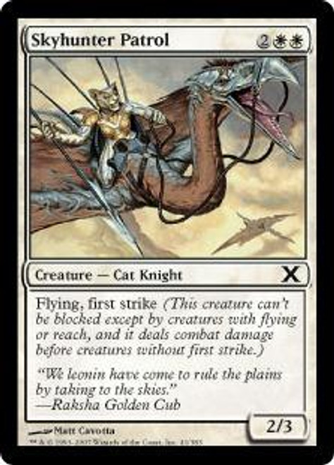 MtG 10th Edition Common Skyhunter Patrol #41