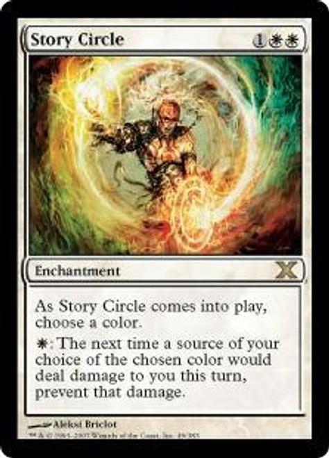 MtG 10th Edition Rare Story Circle #49