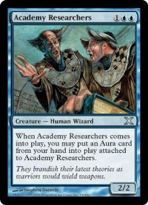 MtG 10th Edition Uncommon Academy Researchers #63