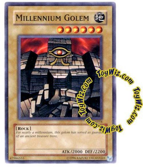 YuGiOh Tournament Pack 7 Common Millennium Golem TP7-EN018