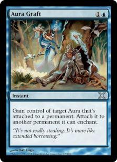 MtG 10th Edition Uncommon Aura Graft #67