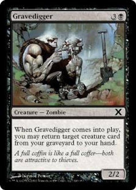 MtG 10th Edition Common Gravedigger #146