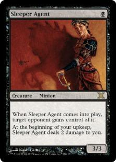 MtG 10th Edition Rare Sleeper Agent #178