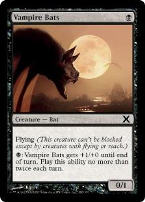 MtG 10th Edition Common Vampire Bats #186