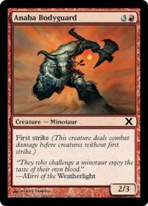 MtG 10th Edition Common Anaba Bodyguard #187