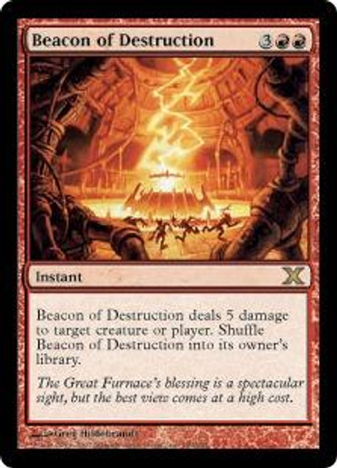 MtG 10th Edition Rare Beacon of Destruction #189