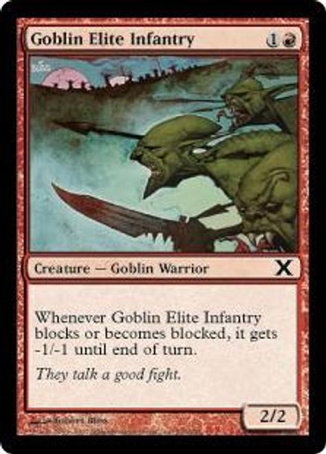 MtG 10th Edition Common Goblin Elite Infantry #206