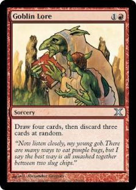 MtG 10th Edition Uncommon Goblin Lore #208