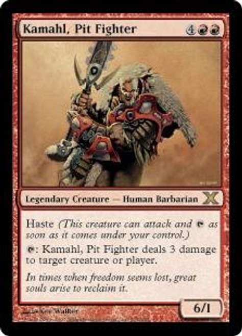 MtG 10th Edition Rare Kamahl, Pit Fighter #214