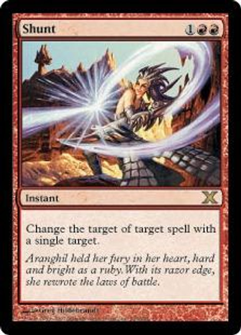 MtG 10th Edition Rare Shunt #233