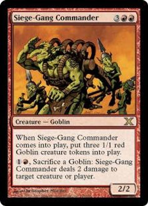 MtG 10th Edition Rare Siege-Gang Commander #234
