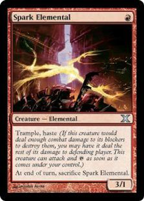 MtG 10th Edition Uncommon Spark Elemental #237