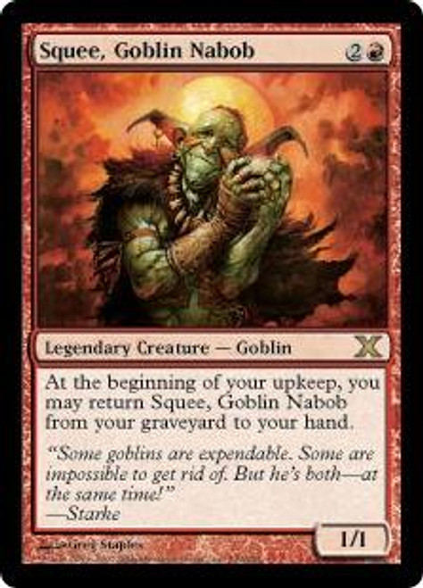 MtG 10th Edition Rare Squee, Goblin Nabob #239