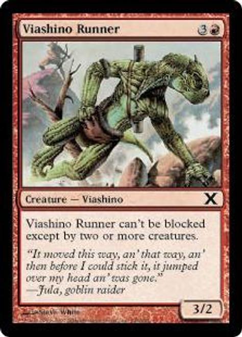 MtG 10th Edition Common Viashino Runner #245