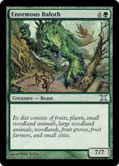MtG 10th Edition Uncommon Enormous Baloth #263