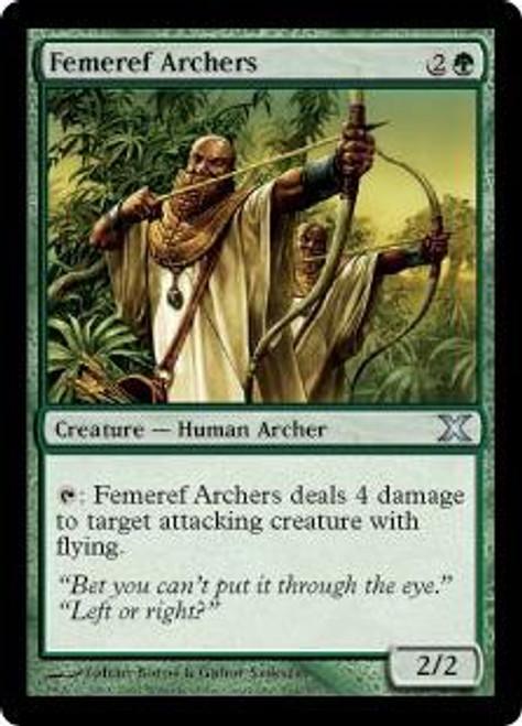 MtG 10th Edition Uncommon Femeref Archers #264