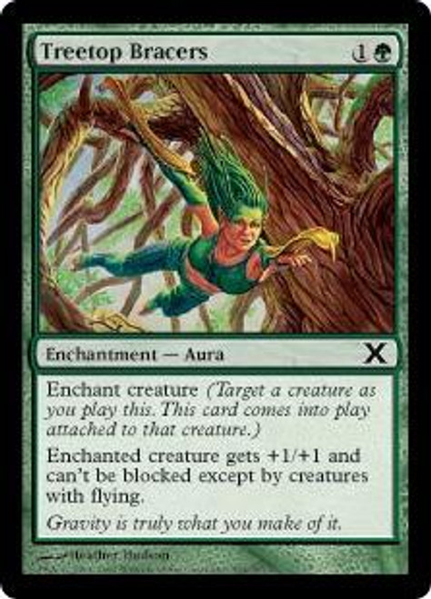 MtG 10th Edition Common Treetop Bracers #304