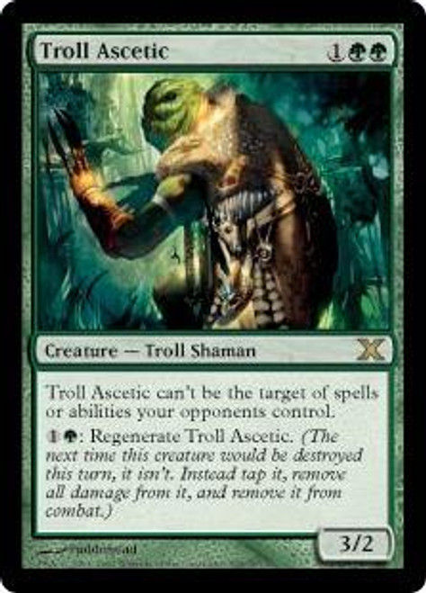 MtG 10th Edition Rare Troll Ascetic #305