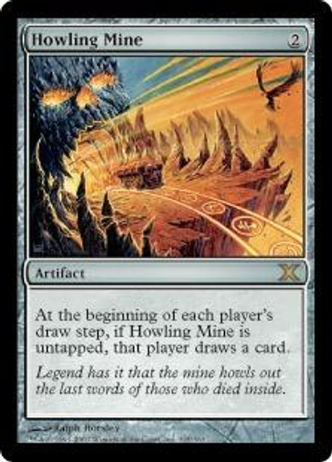 MtG 10th Edition Rare Howling Mine #325