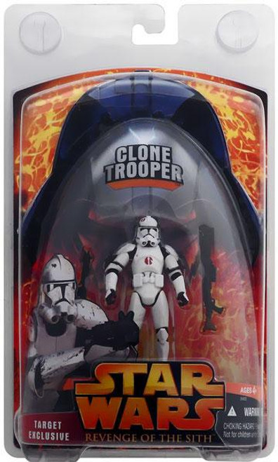 Star Wars Revenge of the Sith 2005 Clone Trooper Exclusive Action Figure [Exclusive]