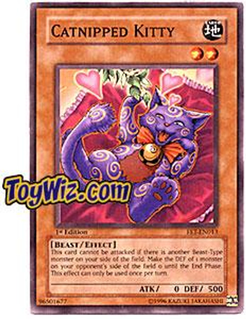 YuGiOh Flaming Eternity Common Catnipped Kitty FET-EN013