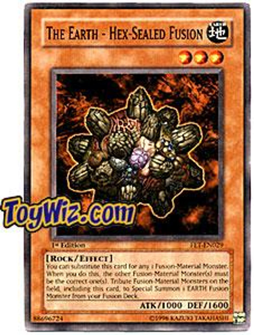 YuGiOh Flaming Eternity Common The Earth - Hex - Sealed Fusion FET-EN029