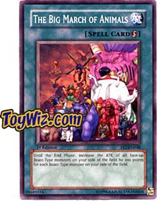 YuGiOh Flaming Eternity Common The Big March of Animals FET-EN048