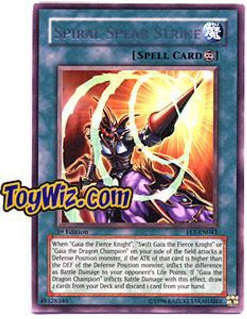YuGiOh Flaming Eternity Rare Spiral Spear Strike FET-EN043