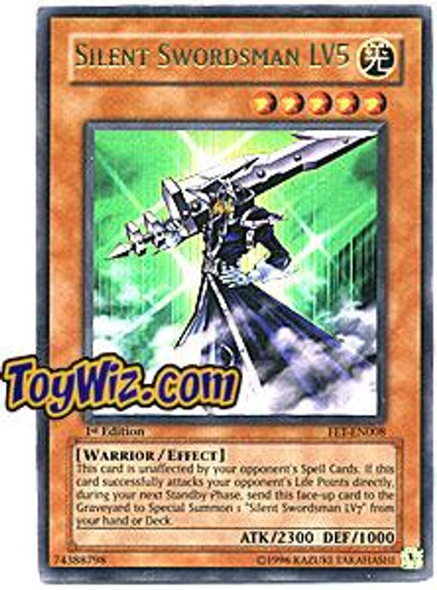 YuGiOh Flaming Eternity Ultra Rare Silent Swordsman LV5 FET-EN008