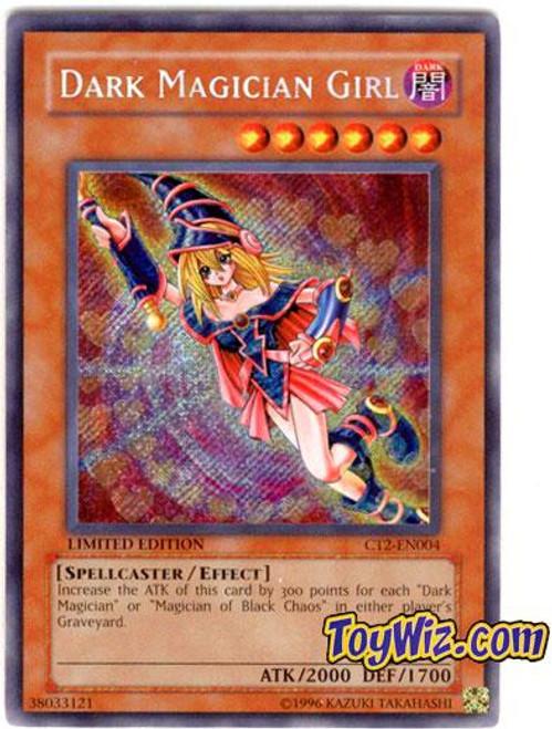 YuGiOh 2005 Collector Tin Secret Rare Dark Magician Girl CT2-EN004