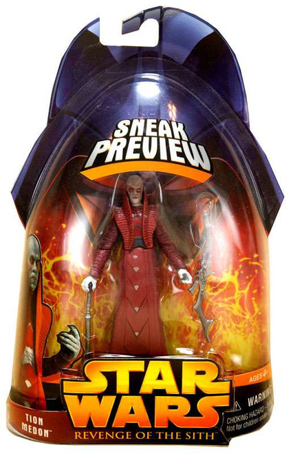 Star Wars Revenge of the Sith 2005 Tion Medon Action Figure [Sneak Preview]