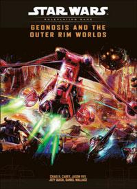 Star Wars Roleplaying Game Geonosis and the Outter Rim Worlds RPG Supplement