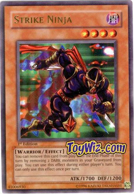 YuGiOh Invasion of Chaos Ultra Rare Strike Ninja IOC-007