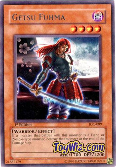 YuGiOh Invasion of Chaos Rare Getsu Fuhma IOC-089