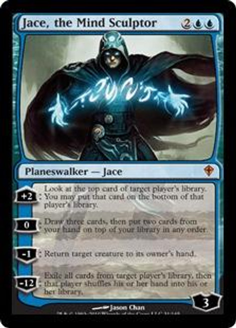 MtG Worldwake Mythic Rare Jace, the Mind Sculptor #31