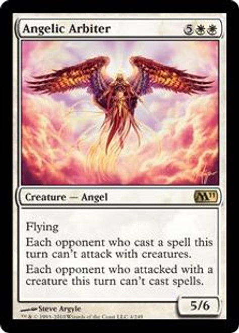 MtG Magic 2011 Rare Angelic Arbiter #4