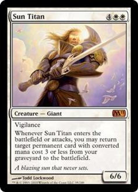 MtG Magic 2011 Mythic Rare Sun Titan #35