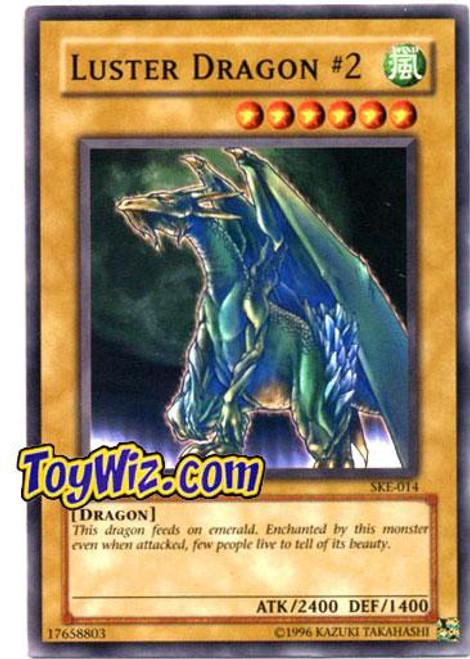 YuGiOh Kaiba Evolution Common Luster Dragon #2 SKE-014