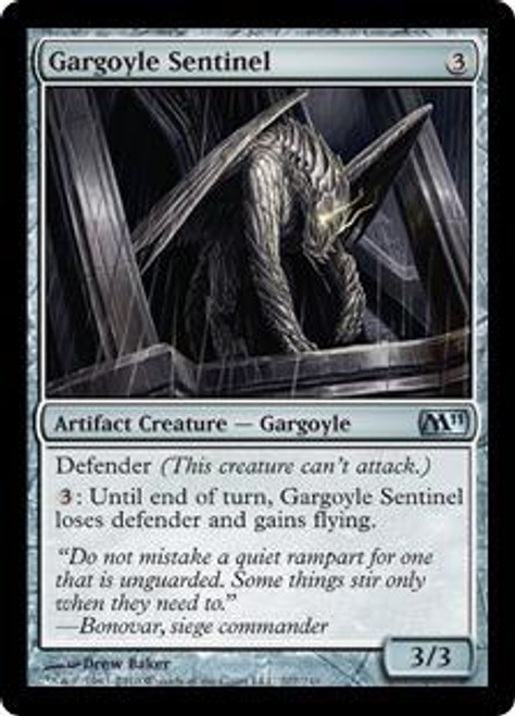 MtG Magic 2011 Uncommon Gargoyle Sentinel #207