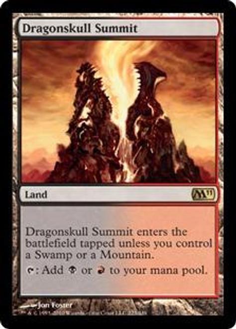 MtG Magic 2011 Rare Dragonskull Summit #223