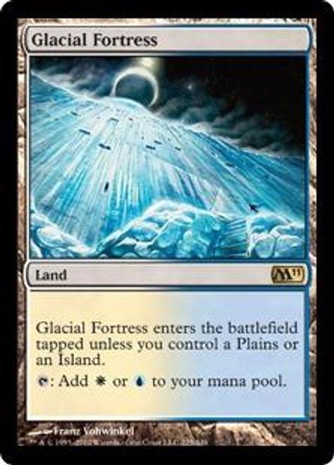 MtG Magic 2011 Rare Glacial Fortress #225