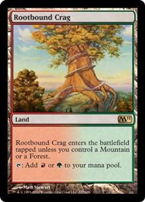 MtG Magic 2011 Rare Rootbound Crag #227