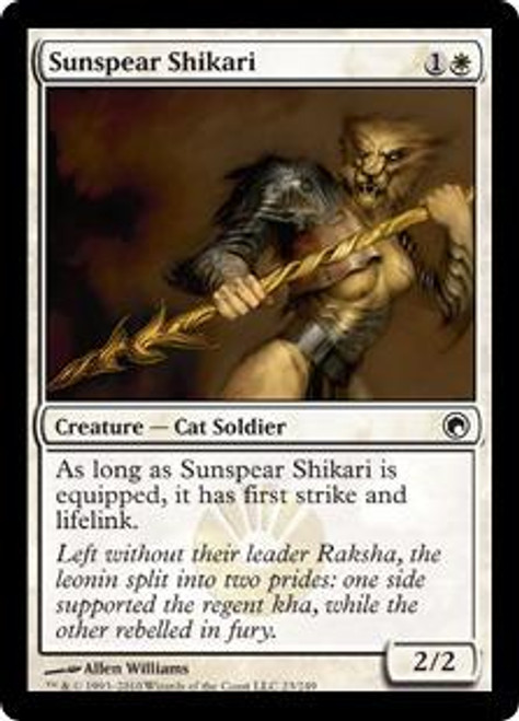 MtG Scars of Mirrodin Common Sunspear Shikari #23