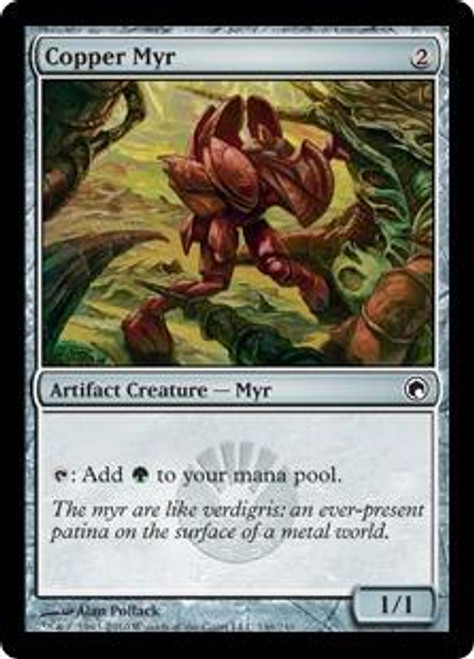 MtG Scars of Mirrodin Common Copper Myr #146