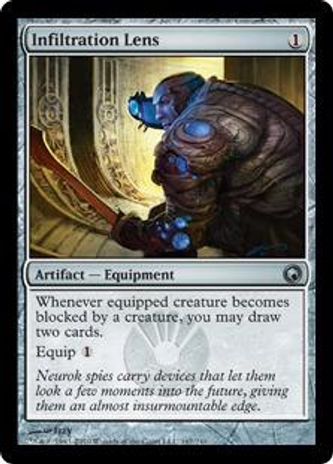 MtG Scars of Mirrodin Uncommon Infiltration Lens #167