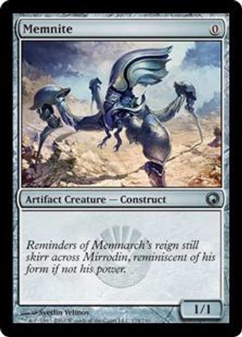 MtG Scars of Mirrodin Uncommon Memnite #174