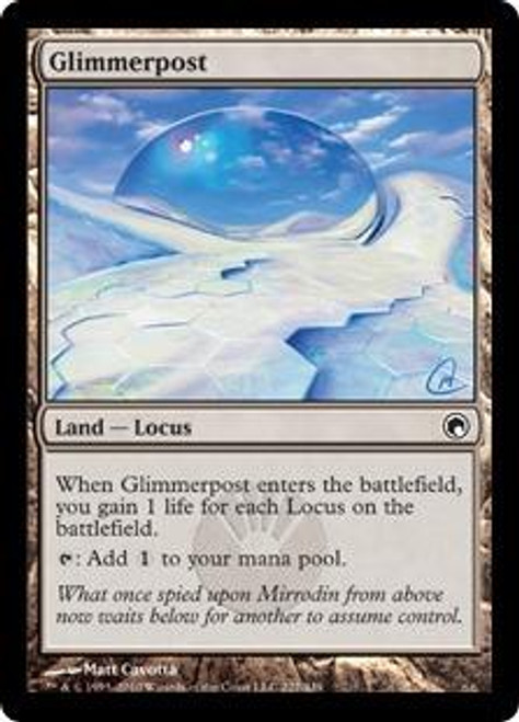 MtG Scars of Mirrodin Common Glimmerpost #227