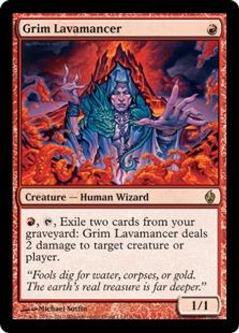 MtG Premium Deck Series: Fire and Lightning Rare Grim Lavamancer #1